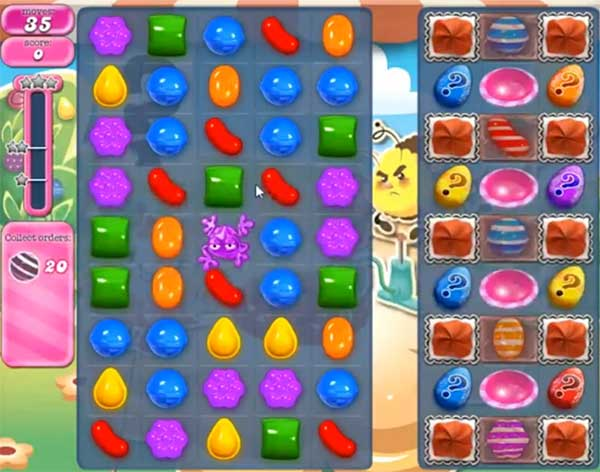 Candy Crush Level 749
