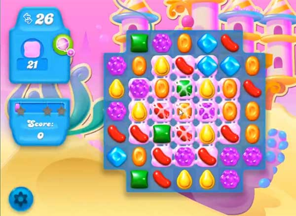 candy crush soda level 166