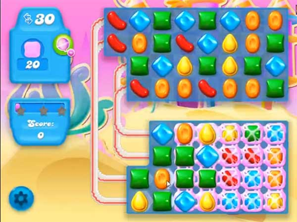 candy crush soda level 167