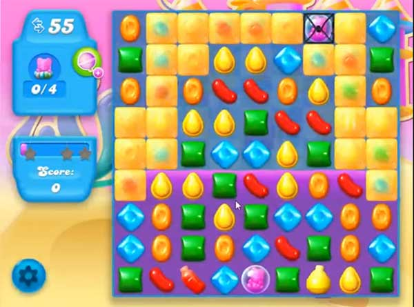 candy crush soda level 168