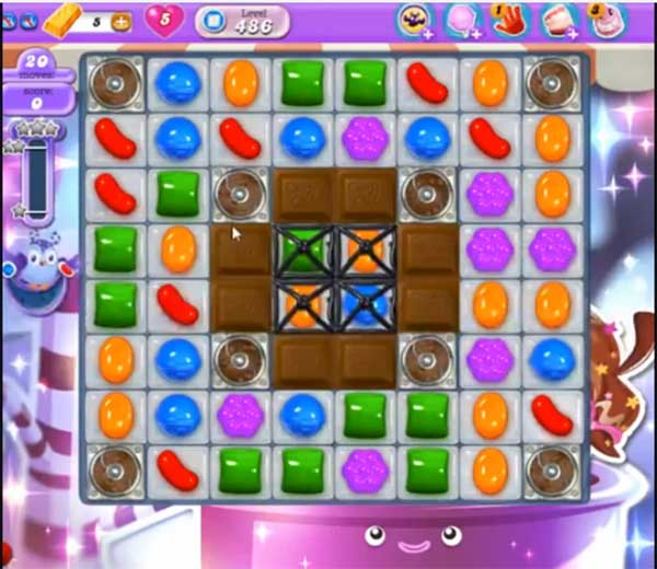 Candy Crush Dreamworld Level 486