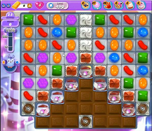 Candy Crush Dreamworld Level 490