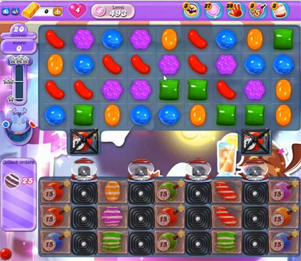 Candy Crush Dreamworld Level 493