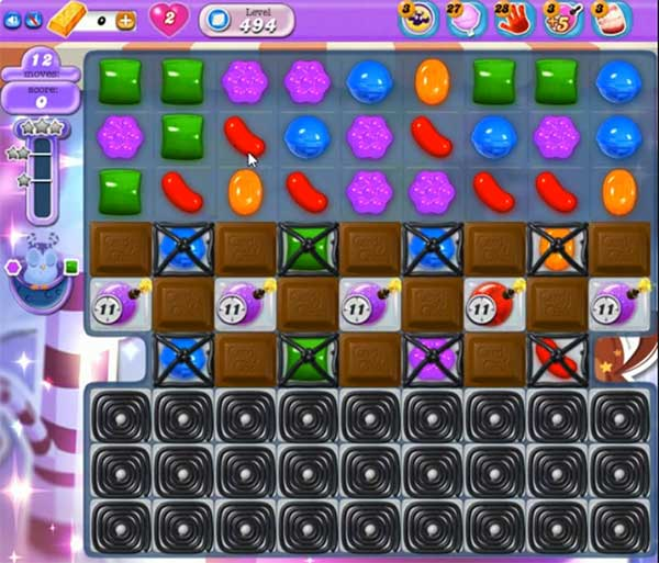 Candy Crush Dreamworld Level 494