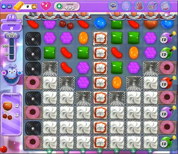 Candy Crush Dreamworld Level 495