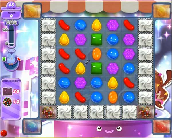 Candy Crush Dreamworld Level 497