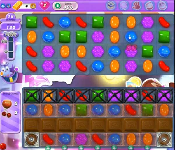 Candy Crush Dreamworld Level 498