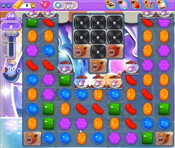 Candy Crush Dreamworld Level 504