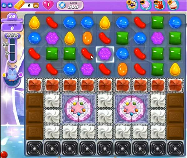 Candy Crush Dreamworld Level 505