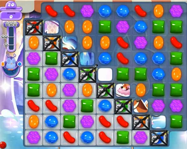 Candy Crush Dreamworld Level 507