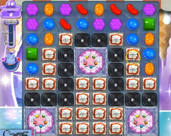 Candy Crush Dreamworld Level 508