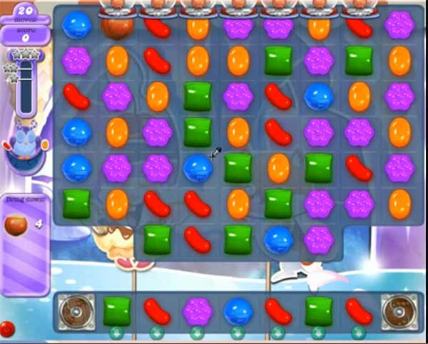 Candy Crush Dreamworld Level 509