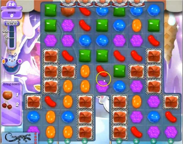 Candy Crush Dreamworld Level 510
