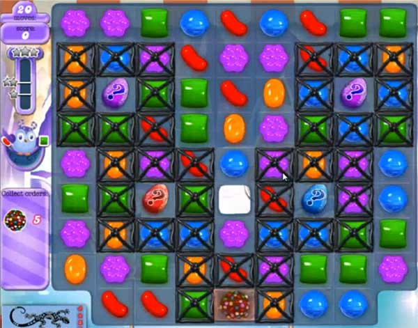 Candy Crush Dreamworld Level 511