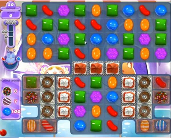 Candy Crush Dreamworld Level 512