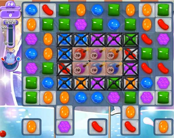 Candy Crush Dreamworld Level 513