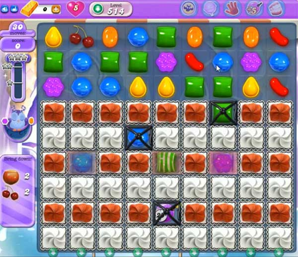 Candy Crush Dreamworld Level 514