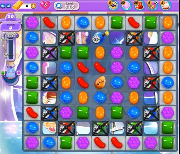 Candy Crush Dreamworld Level 515