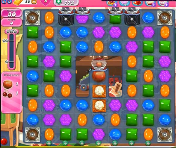 Candy Crush Level 772