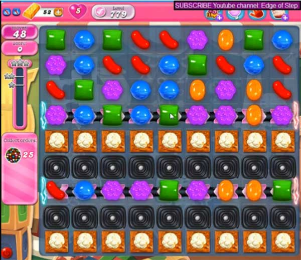 Candy Crush Level 779