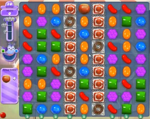 candy crush dreamworld level 517