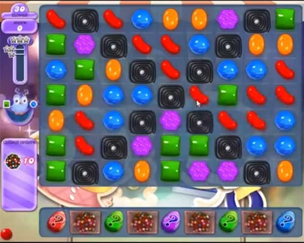 candy crush dreamworld level 519