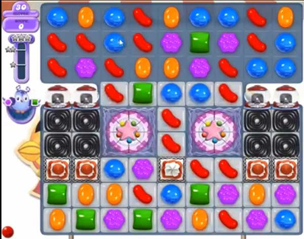 candy crush dreamworld level 520