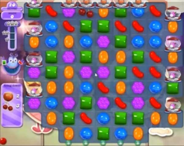 candy crush dreamworld level 521