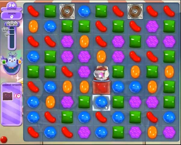 candy crush dreamworld level 522