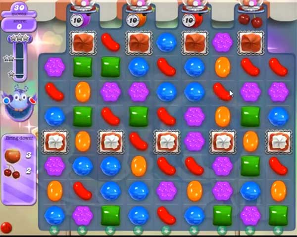 candy crush dreamworld level 525