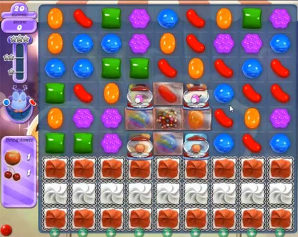 candy crush dreamworld level 527