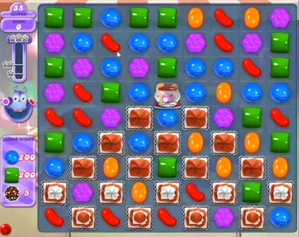 candy crush dreamworld level 529