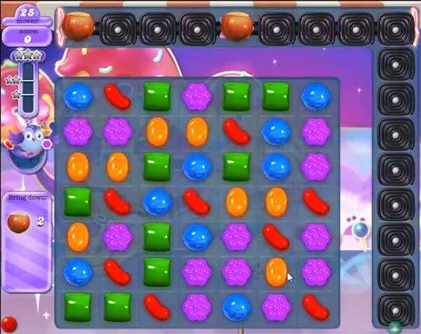 candy crush dreamworld level 532