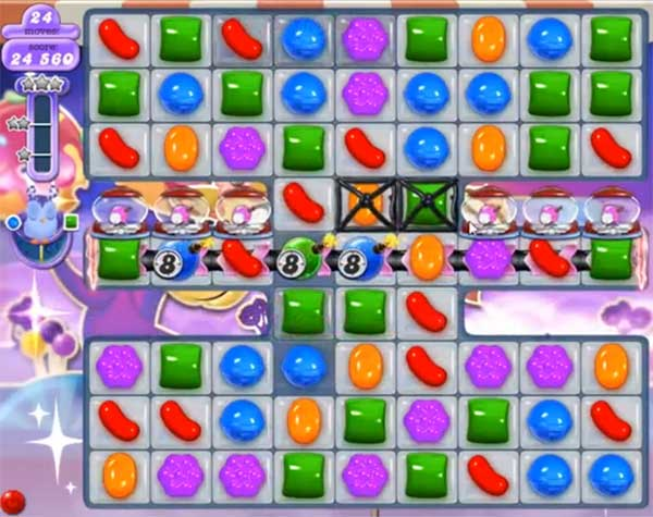 candy crush dreamworld level 538