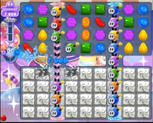 candy crush dreamworld level 541