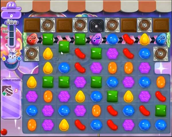 candy crush dreamworld level 542