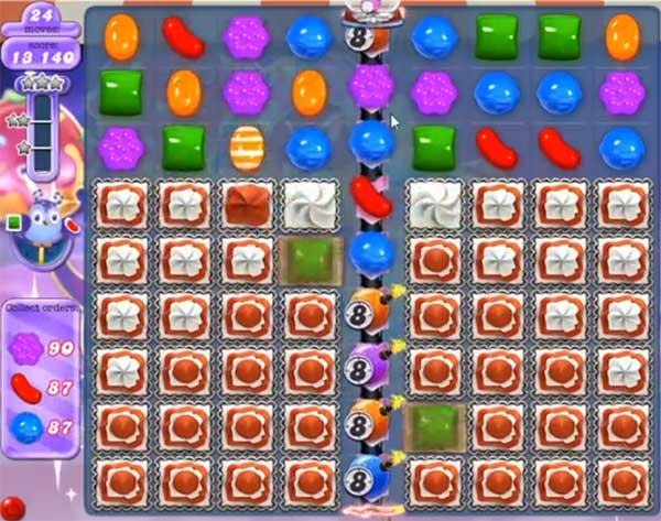 candy crush dreamworld level 544