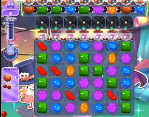 candy crush dreamworld level 554