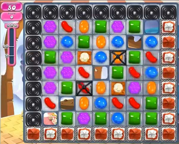candy crush level 823