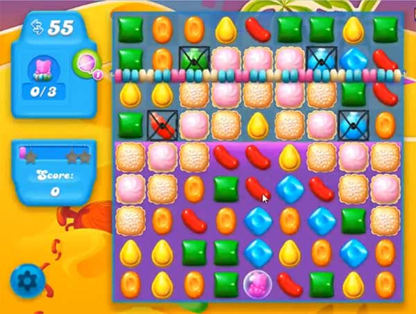 candy crush soda level 250