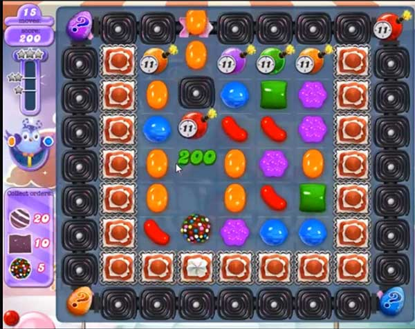 candy crush dreamworld level 566