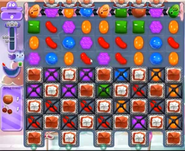 candy crush dreamworld level 568