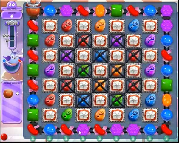 candy crush dreamworld level 570