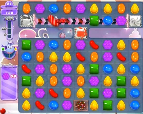 candy crush dreamworld level 572