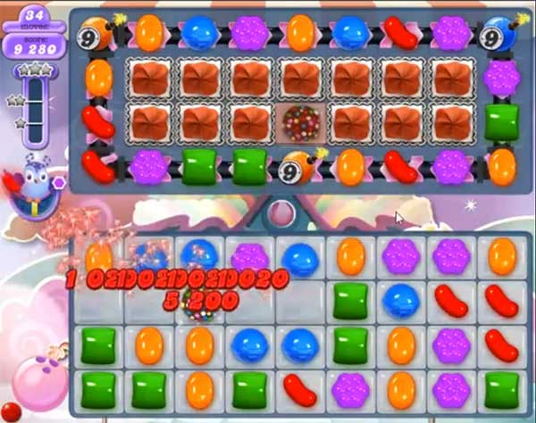 candy crush dreamworld level 575