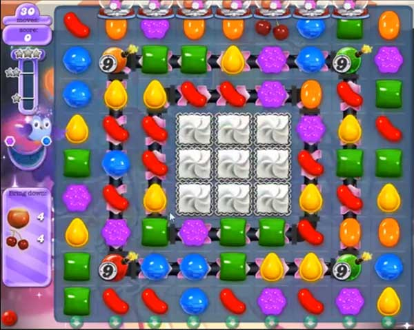 candy crush dreamworld level 576