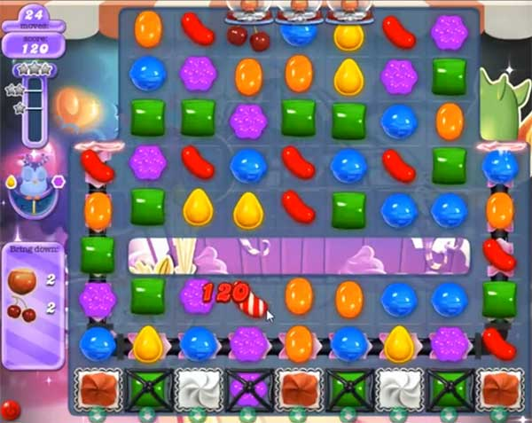 candy crush dreamworld level 579