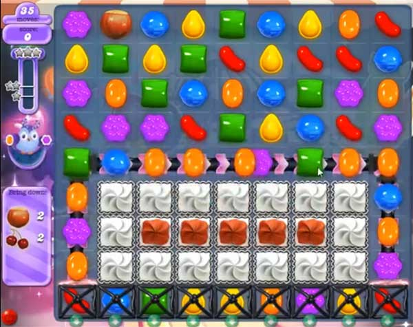 candy crush dreamworld level 581