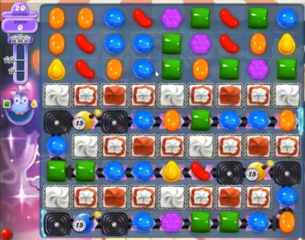 candy crush dreamworld level 582