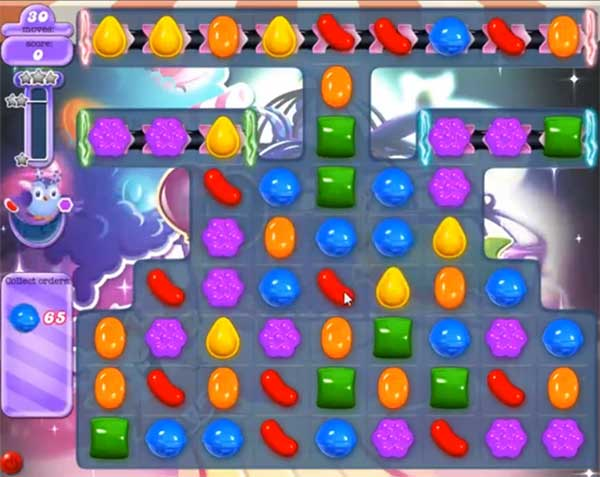 candy crush dreamworld level 583